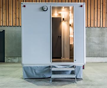 Mini Toiletwagen
