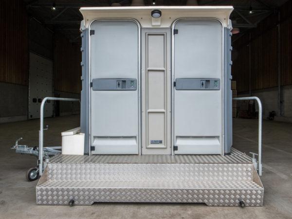 Luxe chemisch toilet huren vd kapelle verhuur