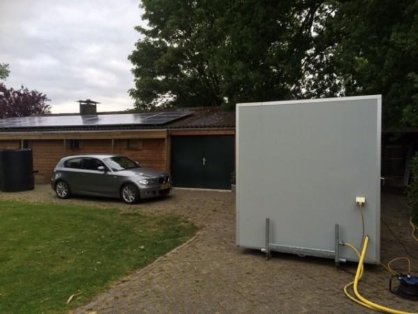 Mobiele badkamer, Schaijk - vd Kapelle Verhuur